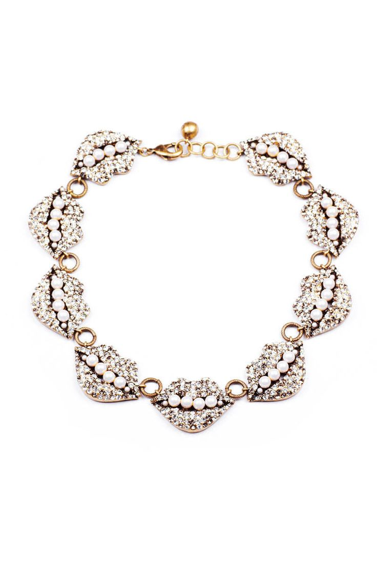 Its all about a statement necklace. An accessory must have