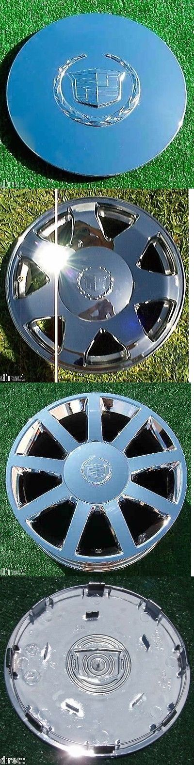 auto parts - general: Brand New Genuine Gm Oem Factory Cadillac Escalade Chrome Wheel Center Cap 4575 BUY IT NOW ONLY: $90.0