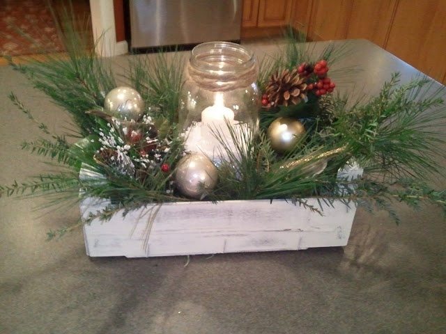 Clementine crate, another great idea, centerpiece for the holidays.