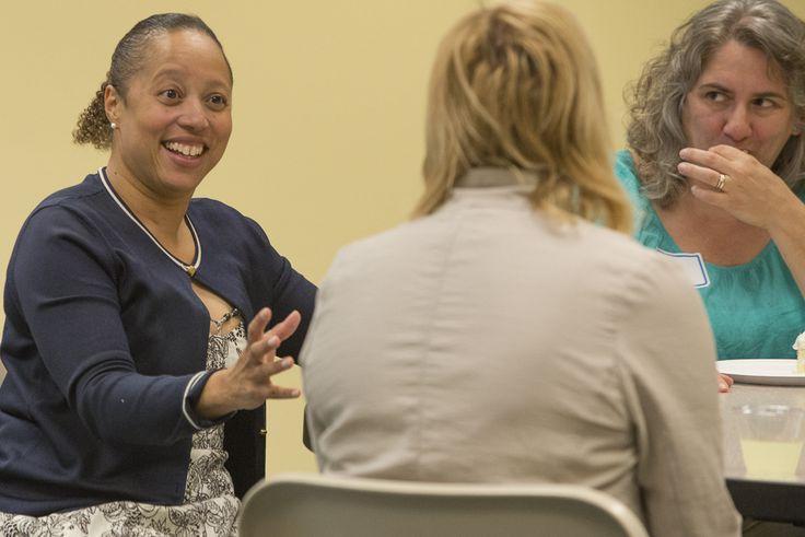 Always smiling, Courtney Brooke Smith, MSC Marketing Director.