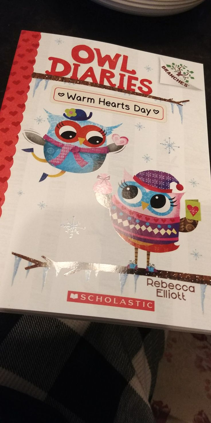 My Brand New Owl Diaries ❤Warm Hearts Day Book❤ That I Got From Scholastic Book Order!😃😄😊☺😉😍😘❤💜💙💚💛💗💘💞💖💕💓💌💋💎💍👣💝🎍