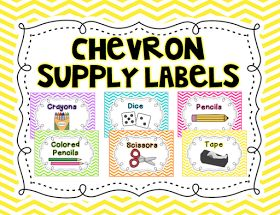 https://www.teacherspayteachers.com/Product/Chevron-Classroom-Supply-Labels-2065715