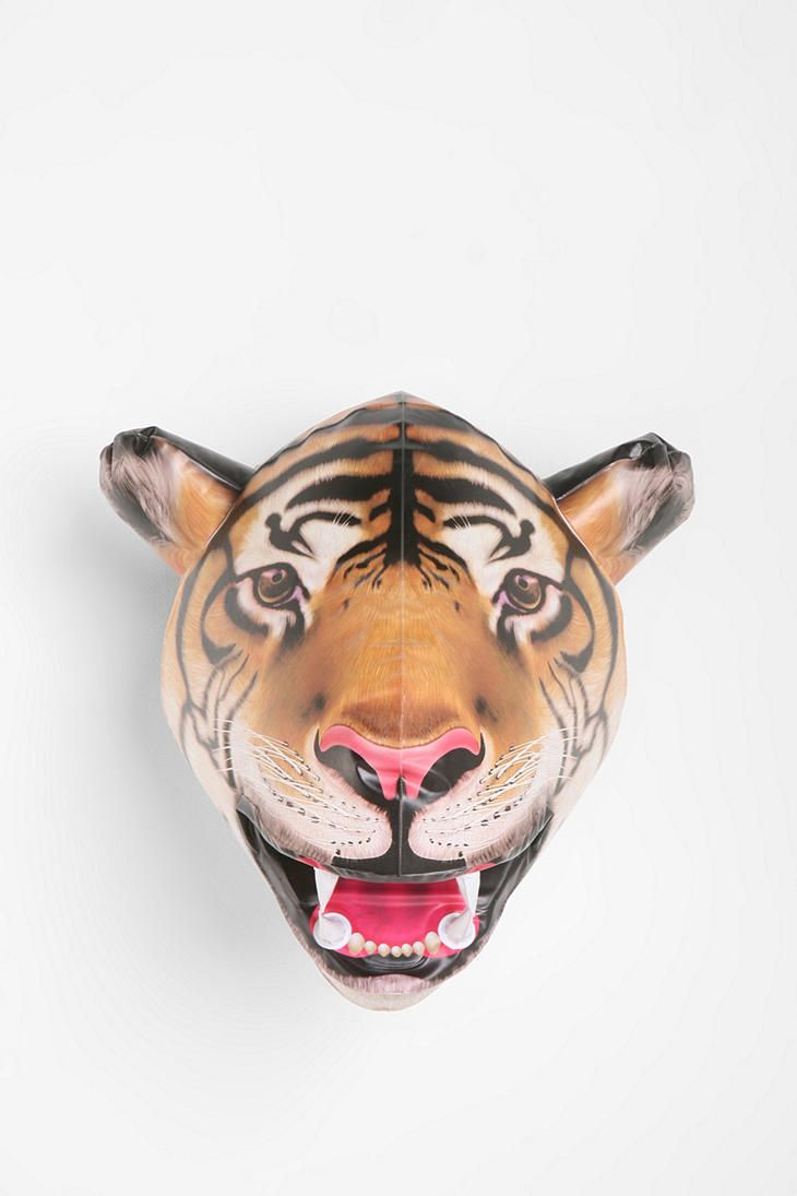 Inflatable Tiger Head #urbanoutfitters