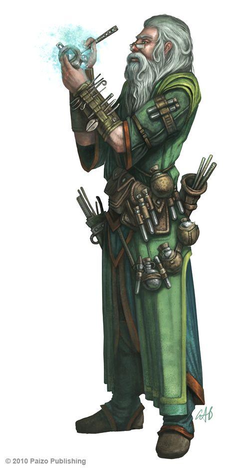 Urgo, druide alchimiste ritualiste brazzaville