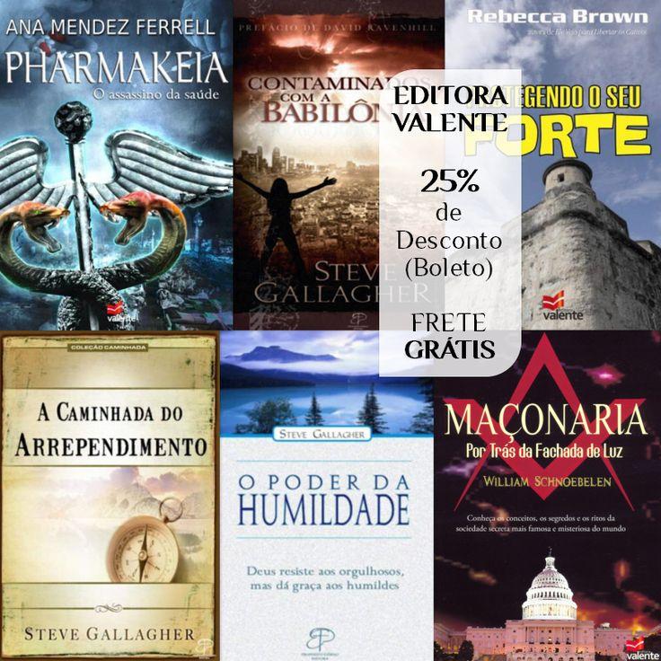 Sociedade, Igreja, Batalha Espiritual, Seitas e Heresias, Biografia | Editora Valente 25%