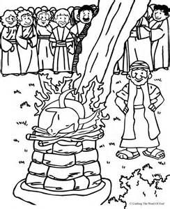 elijah colouring books bible heroes - Elijah Bible Story Coloring Pages