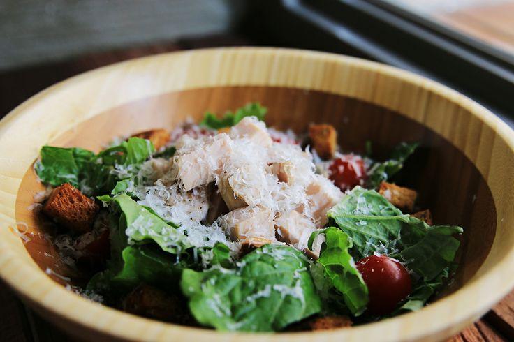 Chicken Caesar Salad with chicken breast