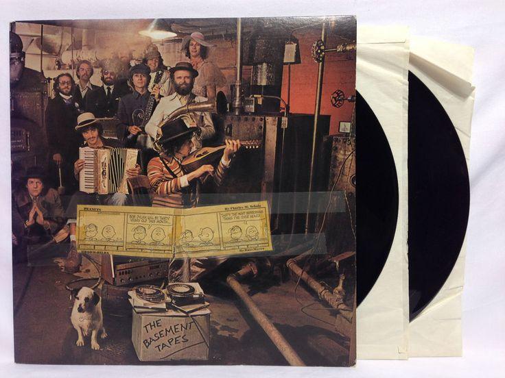 Bob Dylan The Basement Tapes Double Vinyl Lp Stereo Cbs 88147
