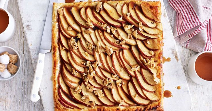 Wow your family and friends with this effortless tart, made with caramelised apples and golden puff pastry.