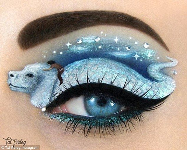 Magical creatures: This incredible design was inspired by the movie The Neverending Story...