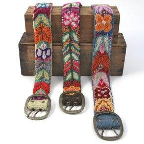 embroidered belts review at Kaboodle