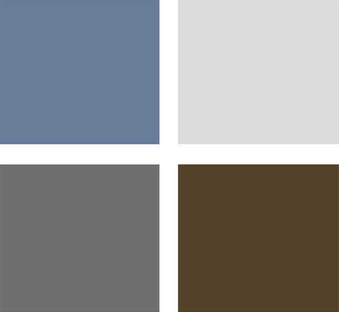 17 best ideas about slate blue paints on pinterest blue for Blue gray paint palette