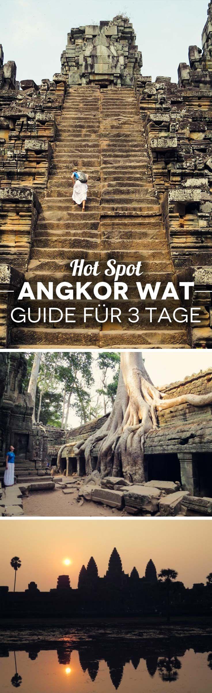 Angkor Wat Guide für 3 Tage: Wie du die Touristenmassen umgehst + Tipps, Highlights & Restaurants Siem Reap