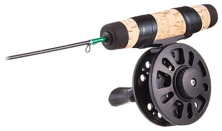 Frabill straight line 101 ice fishing rod and reel combo for Bass pro shop fishing line
