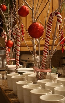 great party decor for table
