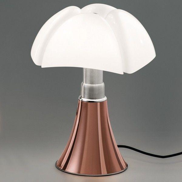 pipistrello cuivre | Petite sœur de la célèbre lampe Pipistrello conçu par Gar Aulenti ...