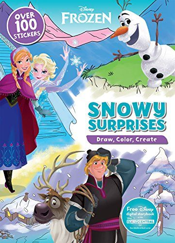 disney frozen snow surprises draw color create read more reviews of the product by visiting