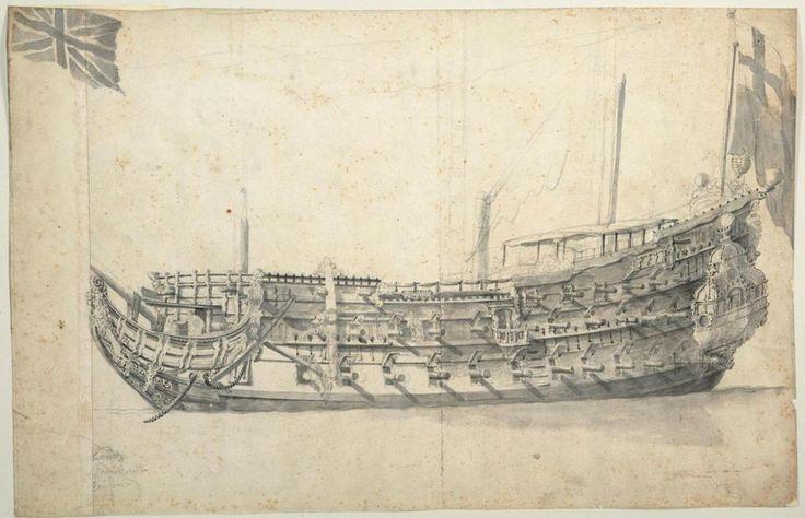 El Londres era un barco de 76 arma que accidentalmente explotó en 1665 - el naufragio de la embarcación de madera todavía se encuentra en el estuario del Támesis hoy