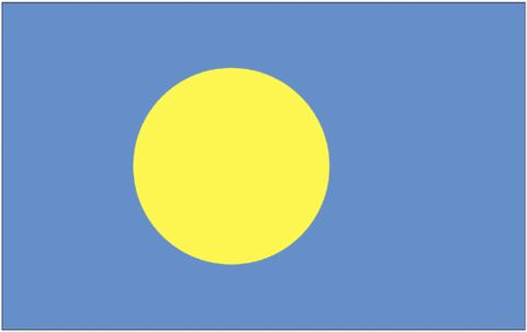 Palau Flag - Fly-Me Flag