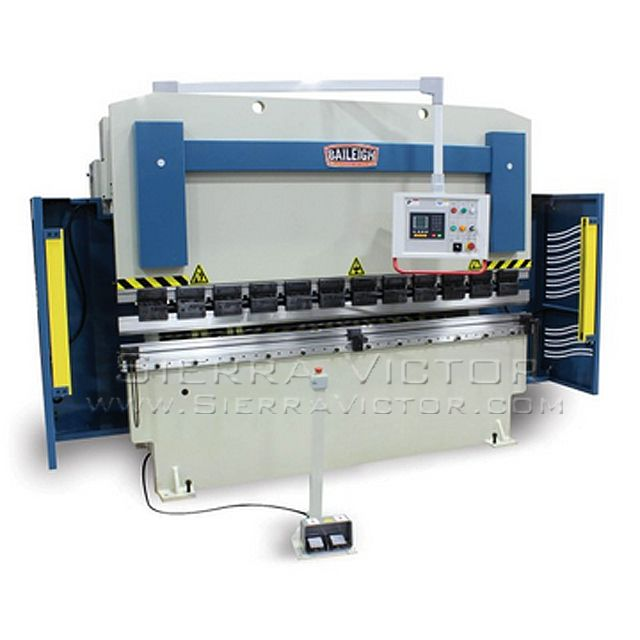 ITEM: 112 Ton x 10' CNC Press Brake,  MAKE: BAILEIGH®,  MODEL: BP-11210 CNC, CALL 386-304-3720, VISIT http://sierravictor.com/index.php?dispatch=products.view&product_id=977