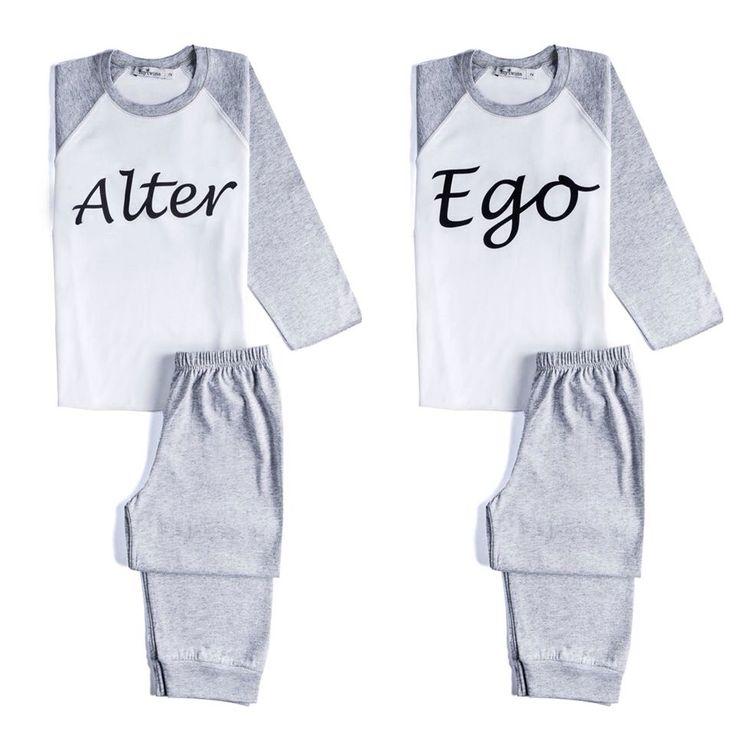 Alter ego twins sleeping wear!
