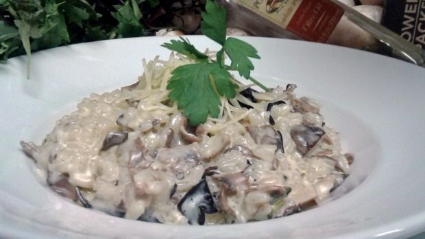 Mushroom risotto from LB and Co.