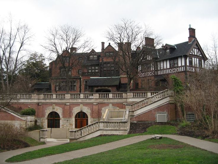 Lenmarkee, former Andrew Mellon estate - Andrew Mellon called his Tudor house on Woodland Road, Pittsburgh, Pennsylvania, Lenmarkee, but the name's origin is unknown. Today, Chatham College students know it as the Mellon Center administration building. Andrew William Mellon (1855–1937) was an American banker, businessman, industrialist, philanthropist, art collector, U.S. Ambassador to the UK & US Sec. of the Treasury 1921–32. His wealth peaked at around $300–$400million in 1929–1930.