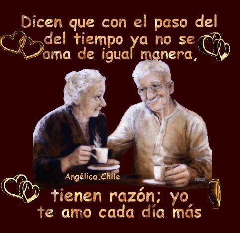 SUEÑOS DE AMOR Y MAGIA: Te amo cada día mas.