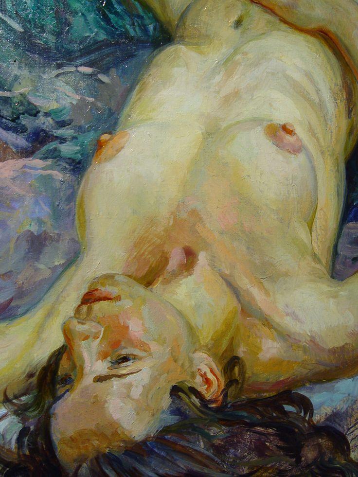 Мечтающая. /фрагмент/  #nude #art #купить_картину