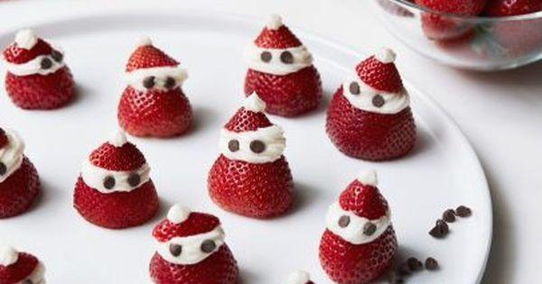 Uma sobremesa prática de morangos recheados que a Giada de Laurentiis criou para você se deliciar neste Natal!
