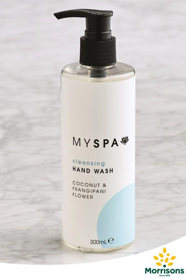 Morrisons My Spa hand wash (coconut & frangipani)