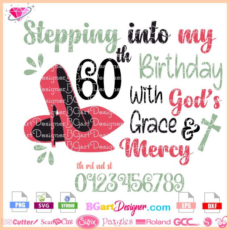 Download lllᐅBirthday God's Grace layered - layer design svg cricut ...