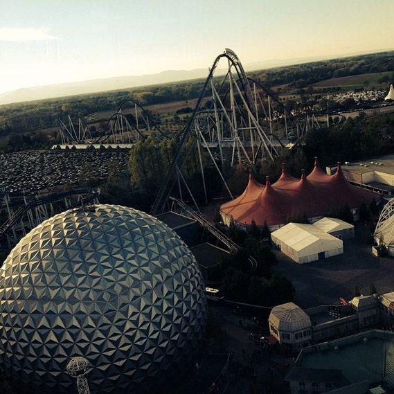 12 alternativas de parques de diversão além da Disney World - Europa Park, em Rust, na Alemanha
