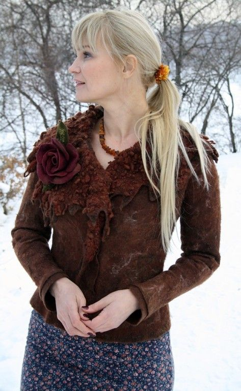 Марина Власенко (Комогорцева) - Войлочная одежда | OK.RU
