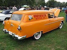 Vintage custom car