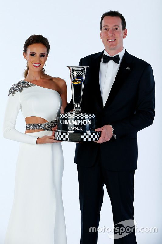 NASCAR Camping World Truck Series Team Owner Champions Samantha and Kyle Busch, Kyle Busch Motorsports