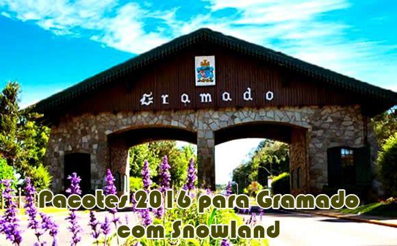 Pacotes para Gramado em 2016 com Snowland e aéreo #gramado #snowland #pacotes #viagem