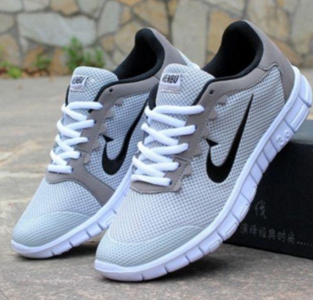 Women Men Running Sport Casual Shoes Sneakers Grey