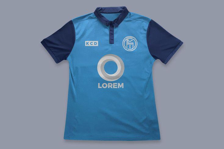 Download Football Jersey - Free Mockup | Football jerseys, Design ...