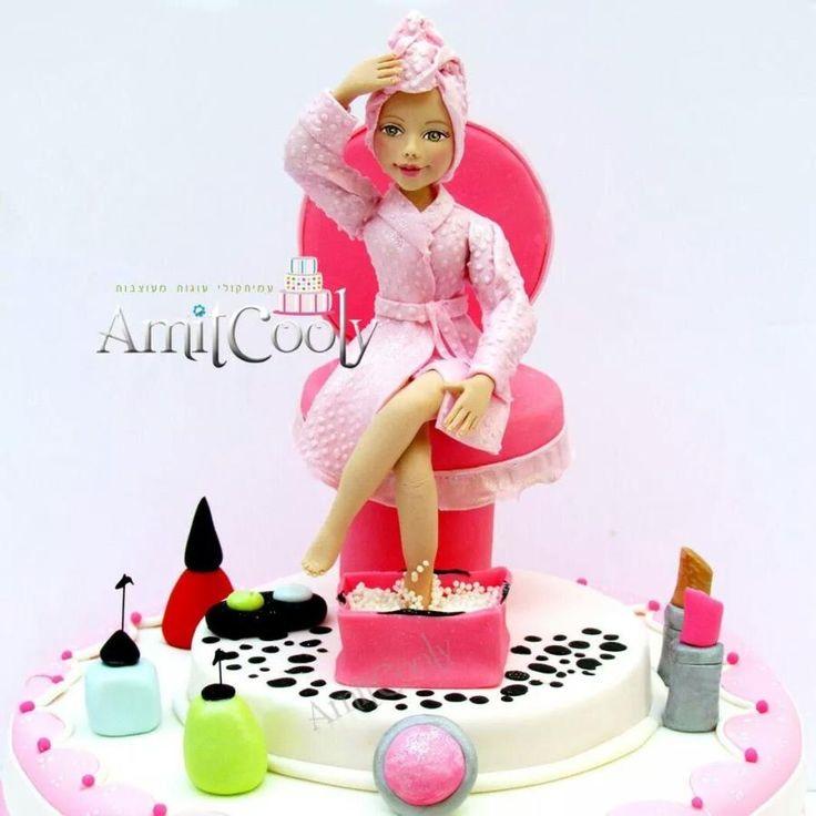 Spa Cake - Cake by Nili Limor