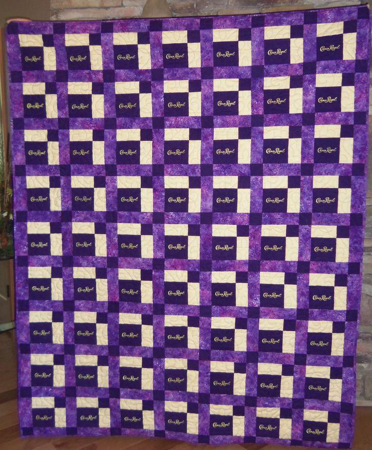 Best 25+ Crown royal quilt ideas on Pinterest | Crown royal bags ... : crown royal quilt patterns free - Adamdwight.com