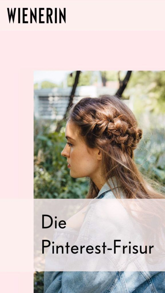 """Haben Sie schon einmal nach dem """"Pinterest Braid"""" gesucht? Der geflochtene Friseur …   – Nageldesign"""