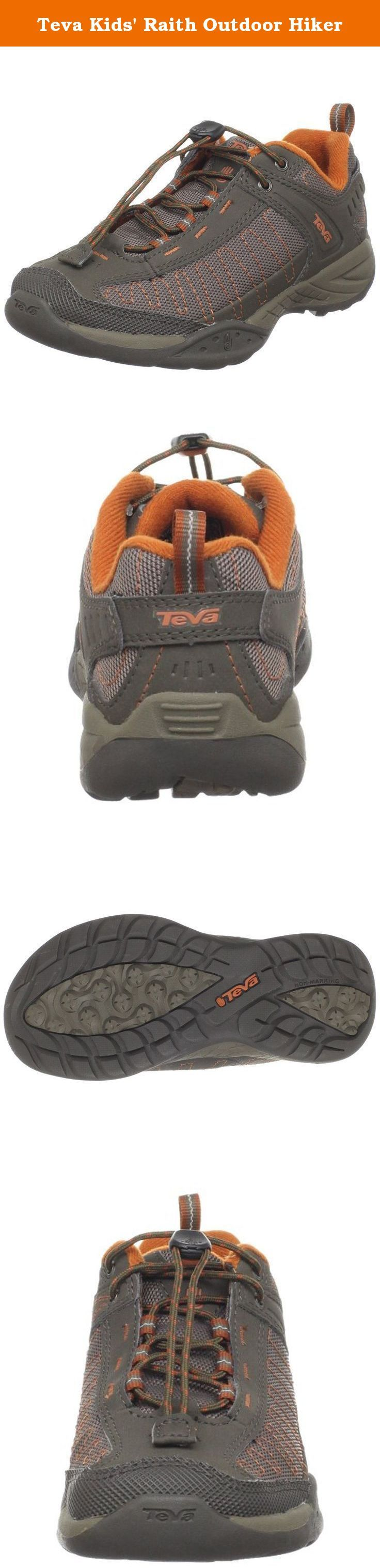 Teva Kids' Raith Outdoor Hiker. Boys are wild. You know this, we know this. That's why we made the Raith Kids. It's got enough performance features to keep up with the most active boys, and all of the durability that those boys require.
