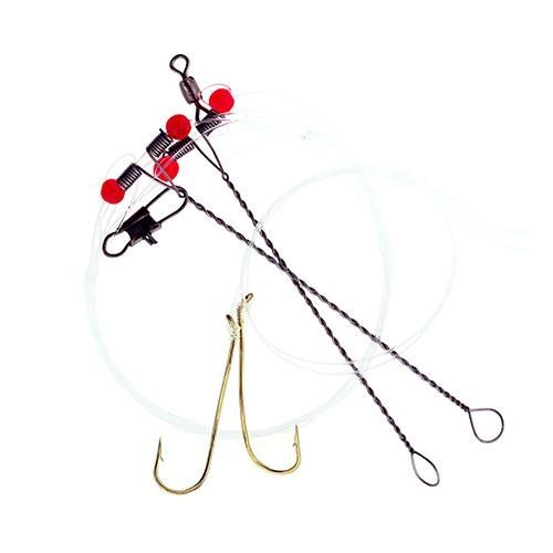 Eagle Claw Crappie Rig, 6  http://fishingrodsreelsandgear.com/product/eagle-claw-crappie-rig-6/  Aberdeen Hooks with Gold Finish Rotating Hook Design w/Spreader Rig Great Rig for bottom fishing for crappies, perch and other pan fish