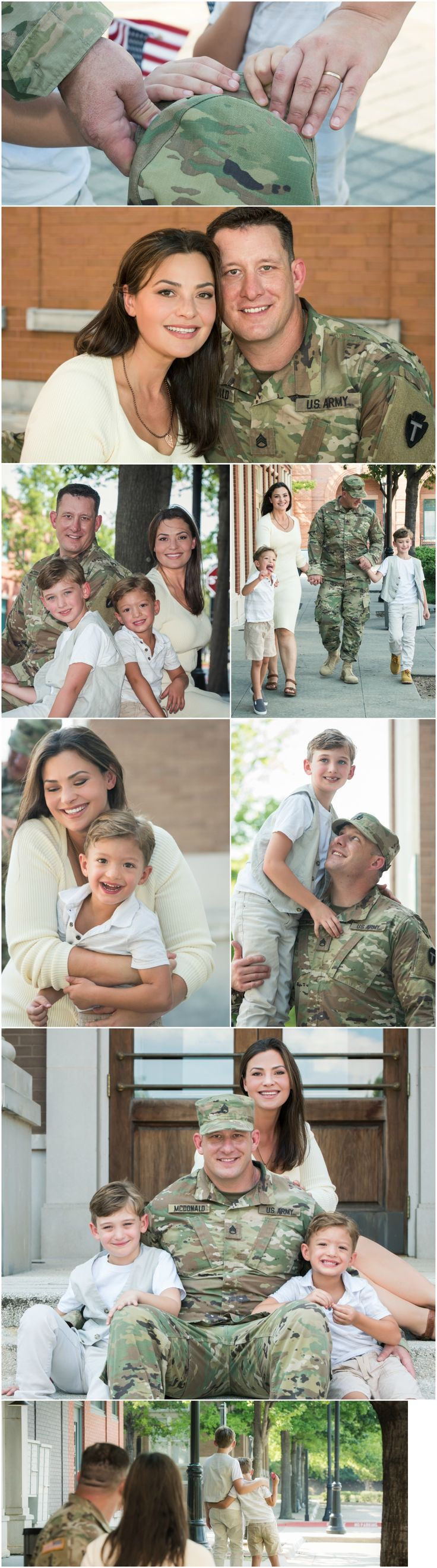 mcdonald military family picture