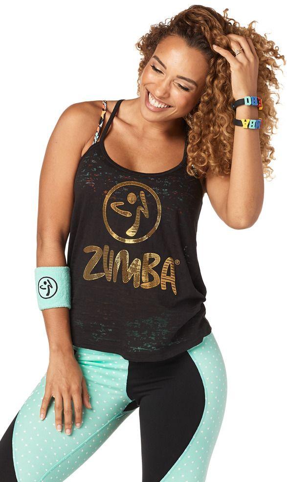 Zumba Hero Open Back Tank   Zumba Fitness Shop