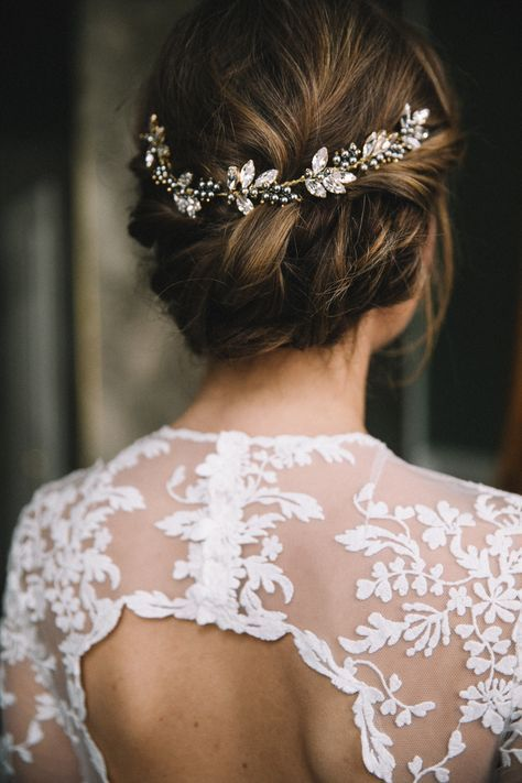 brautfrisur , bridalhair , Brautschmuck im haar