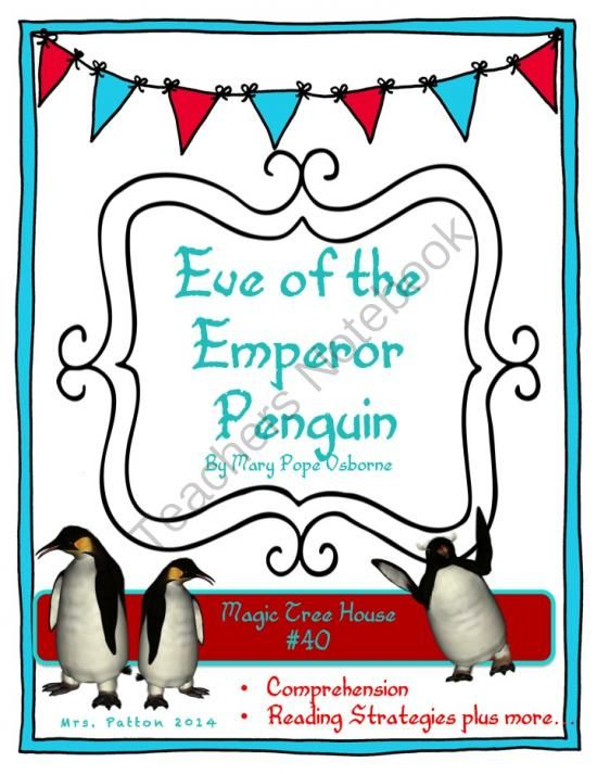 The Eve of the Emperor Penguin MTH #40 Freebie from MrsPattonShop on TeachersNotebook.com -  (3 pages)  - This is a cloze passage about Penguins that goes along with my penguin unit. Please leave feedback!!