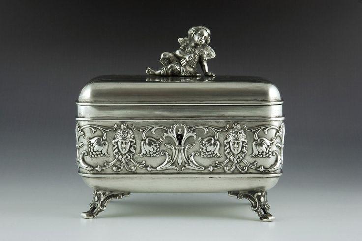 Casket sugar box, Vienna