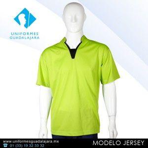 Camisa tipo polo modelo JERSEY